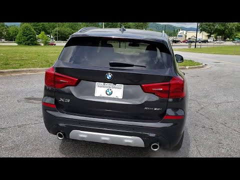 2019 BMW X3 Fletcher, Hendersonville, Waynesville, Marion, Asheville, FL KLP86802