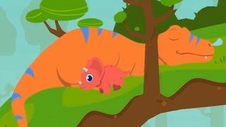 ❤️🌟Juegos de Dinosaurios. Los Niños Aprenden sobre los Dinosaurios Videos Infantiles