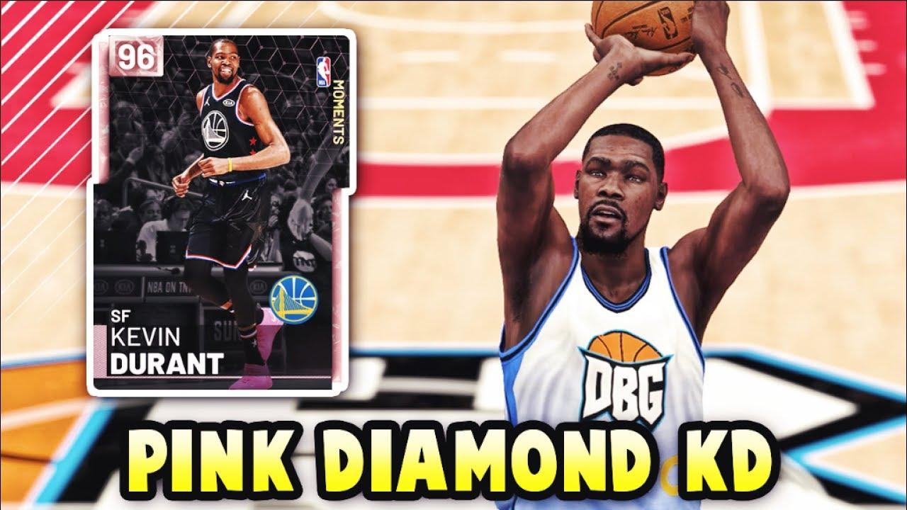 d77ba5d652d4 NBA 2K19 PINK DIAMOND ALL STAR MVP KEVIN DURANT GAMEPLAY!!