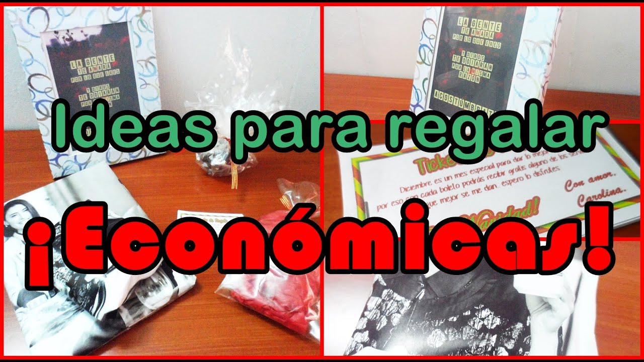 ideas para regalar fciles y econmicas mente de mujer por carolina hd youtube