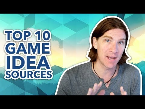 Top 10 Ways To Come Up With Game Ideas
