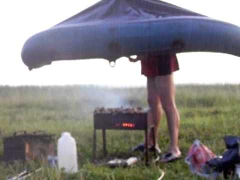 Новый способ жарить шашлыки!!!.MOV