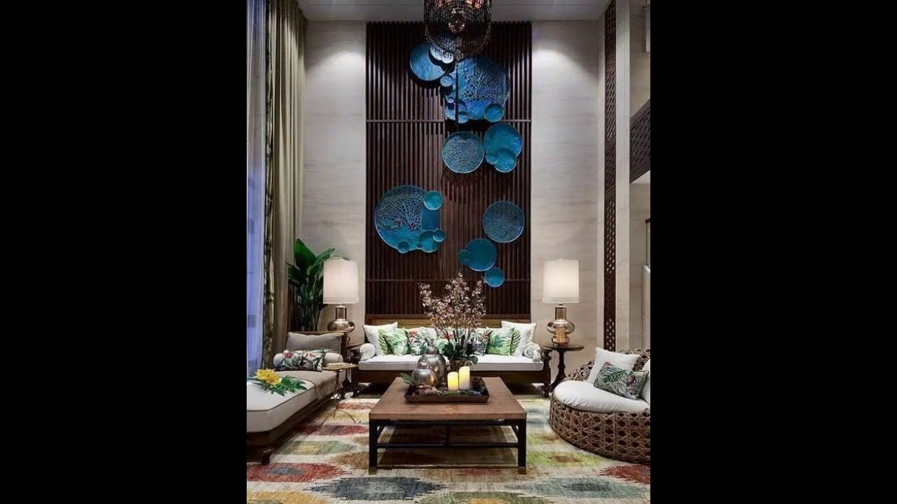 R34 Double Height Feature Wall In Indian Home Youtube