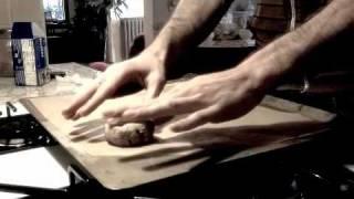 Coconut Date Scone Baking