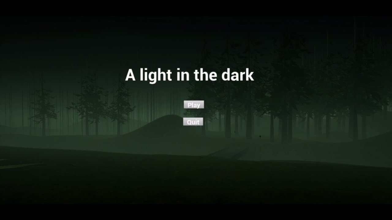 A Light in the Dark Game