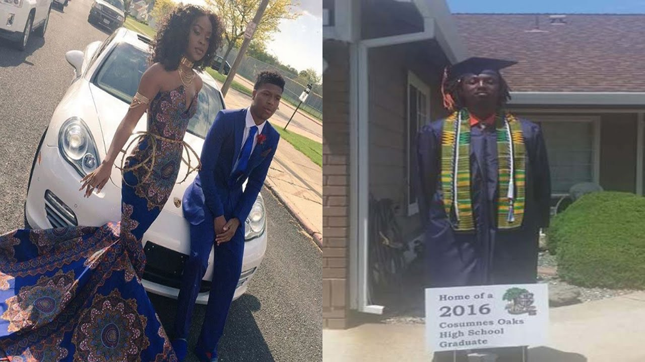 Teacher Calls African Themed Prom Dress Tackykente Cloth Cause