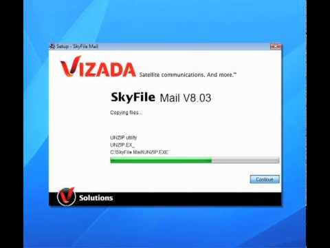 skyfile mail
