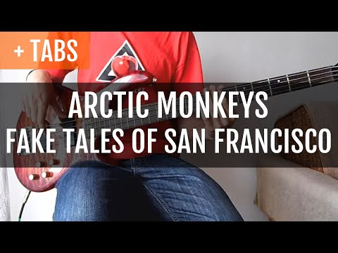 Arctic Monkeys - Fake Tales Of San Francisco (Bass Cover With TABS!)