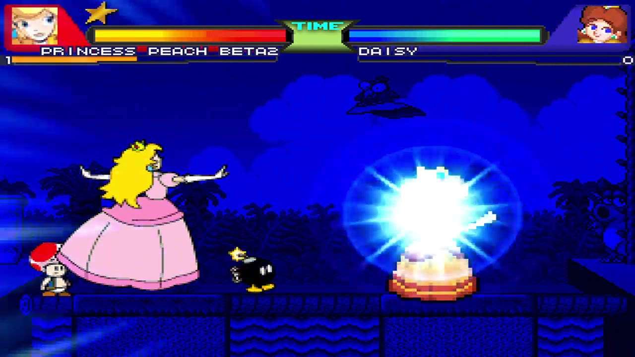 Download NICK54222 MUGEN: Princess Peach VS Princess Daisy