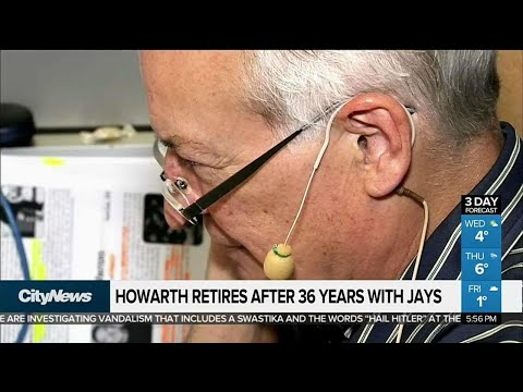 Jerry Howarth retires after 36 seasons on air