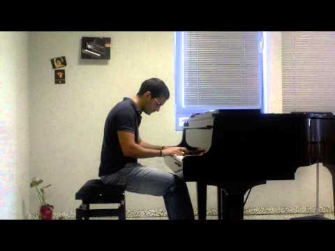 Prelude No. 1 in C major, BWV 846, from Bach's Well-tempered Clavier. Johann Sebastian Bach.