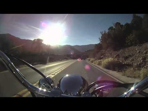 Motorcycle Ride up to Mt. Charleston, NV