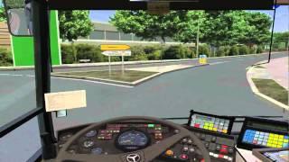 OMSI Bus Simulator Mercedes Benz O405N² Bowdenham 3.0 Route 240 Garston Manor - Fobbingham Green