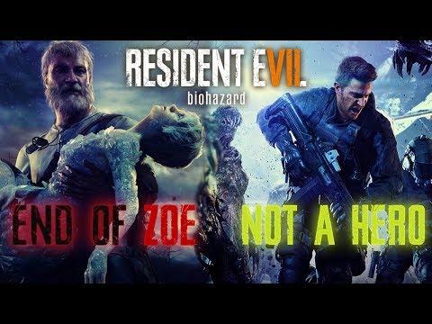 RESIDENT EVIL 7 - NOT A HERO / END OF ZOE - ATÉ ZERAR AO VIVO
