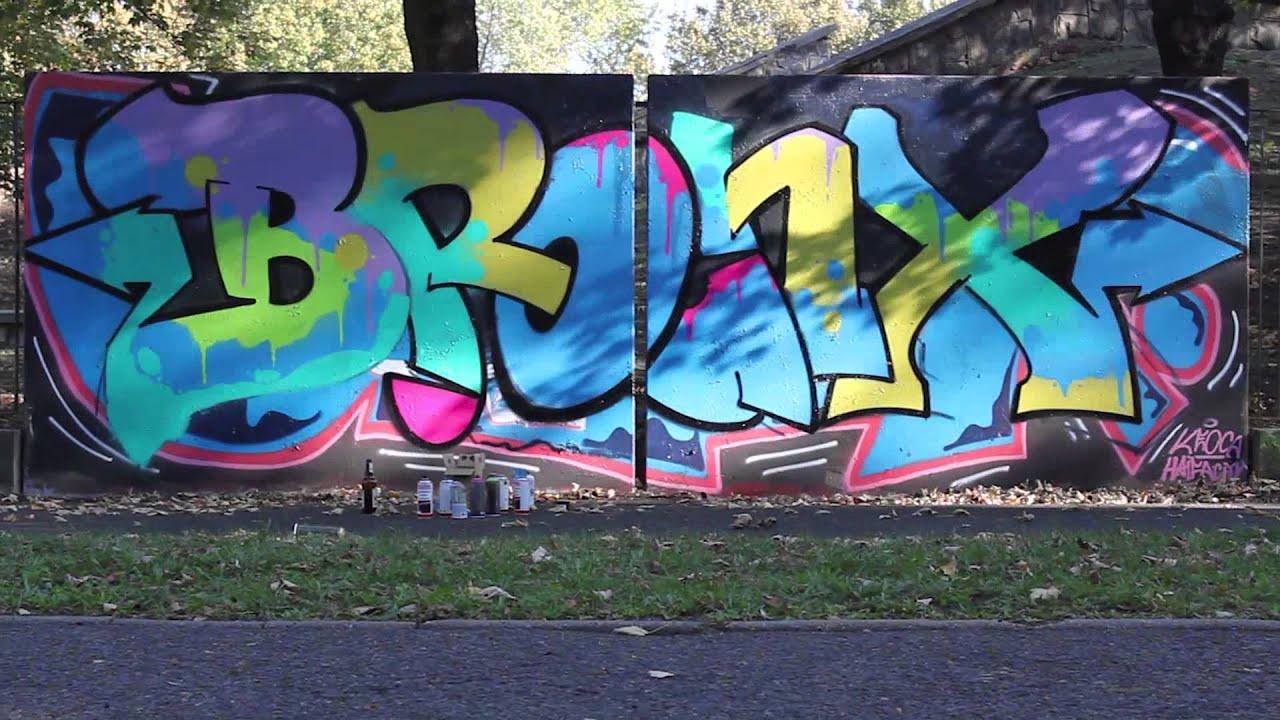 BRONX HIP HOP FESTIVAL - PROMO GRAFFITI - YouTube