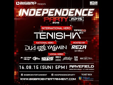 INDEPENDENCE PARTY 2015 (Official Trailer)