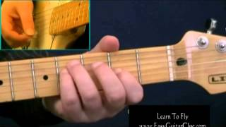 How To Play Foo Fighters Learn To Fly