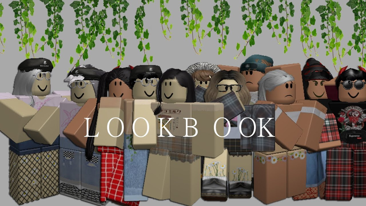 Roblox Outfit Ideas Lookbook Grunge Edition - Aesthetic Roblox Outfits Slubne Suknie Info