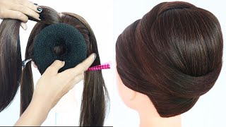 Easy juda hairstyles for gown, lehenga, & saree || new hairstyle for girls || trending hairstyles