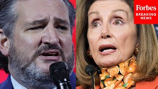 JUST  N Ted Cruz Excoriates Pelosi For Mask Mandate Takes Aim At CDC Over Changed Guidance