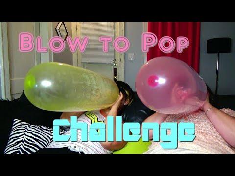 Blow to Pop Challenge