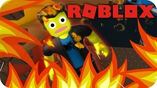 Roblox - MORRI QUEIMADO! 😧 Natural Disaster Survival