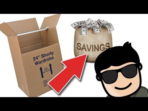 Shorty Wardrobe - SAVINGS - CDS Moving Equipment