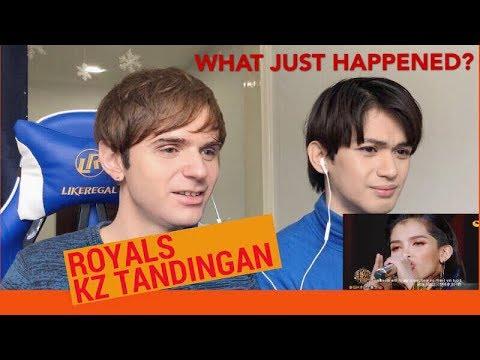 KZ Tandingan ROYALS Reaction (Singers 2018)