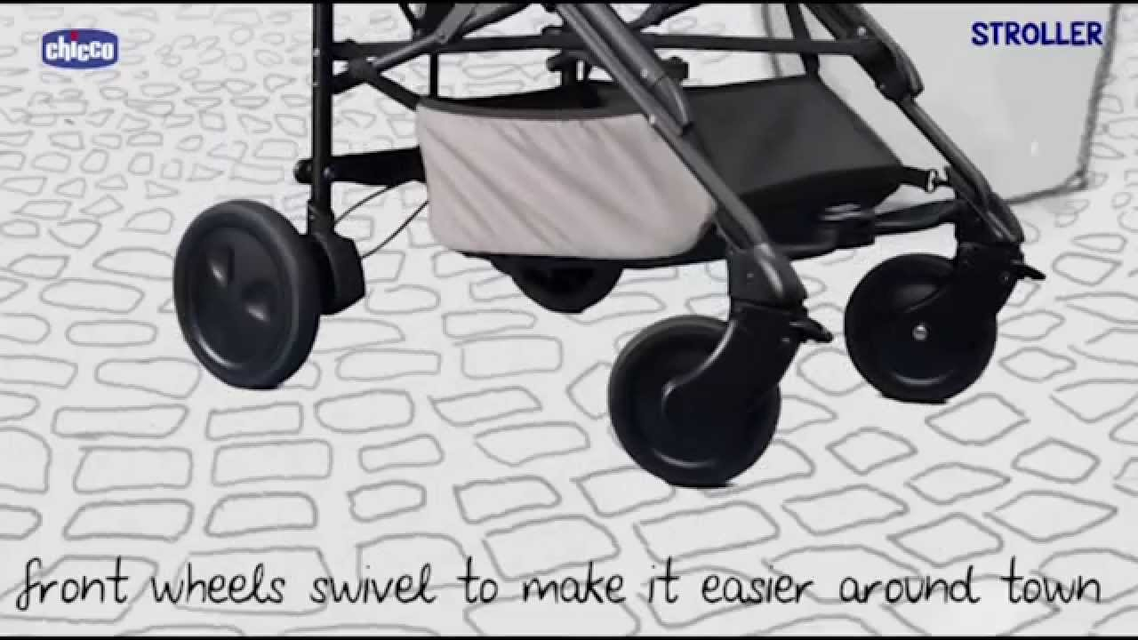 00e4c7f83 Chicco Trio Living Smart Travel System - Demonstration | BabySecurity -  YouTube