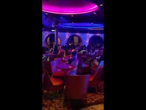 TJ and Jacob karaoke - Disney Dream - June 26, 2016