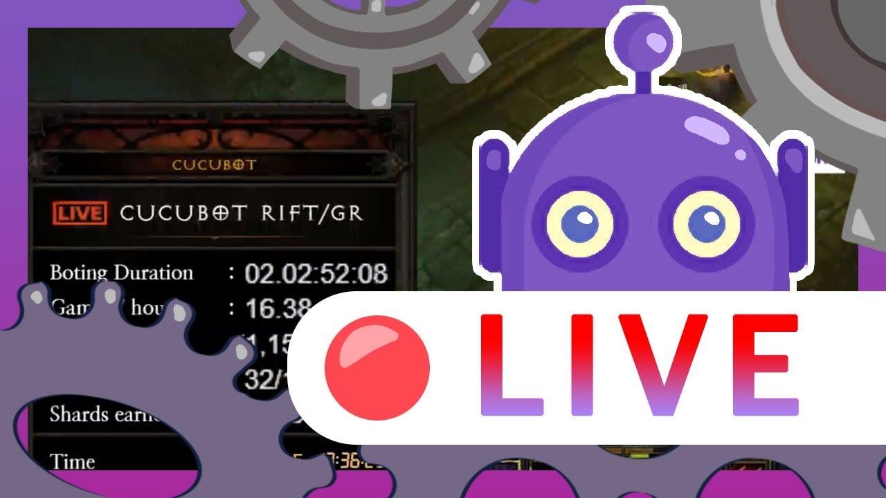 [Diablo III Bot] ⭐CuCuBot ⭐ Necromancer Live Botting