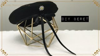 Step by step DIY beret for beginners