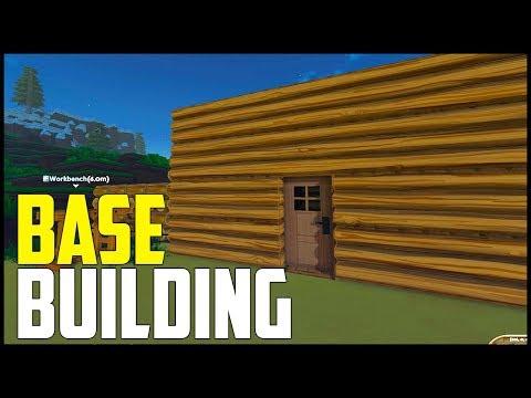 ECO Survival - Part 2: Choosing a Profession & Base Building!