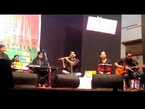 Bhor bhaye panghat pe on flute by krishna sathe