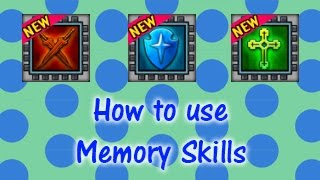 Memory Skill Capsules | Digimon Masters Online