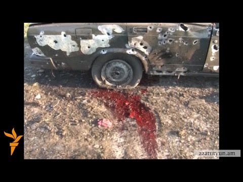 Военные столкновения в Карабахе