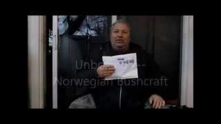 Unboxing Norwegian Bushcraft