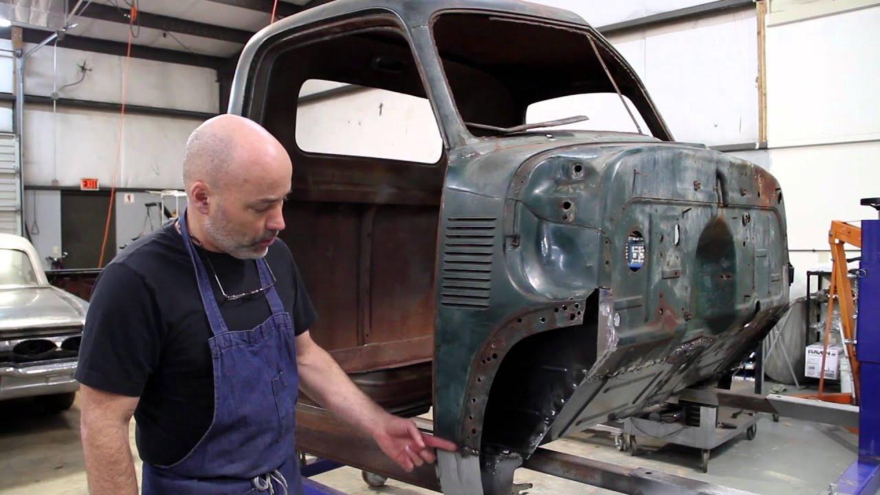 1951 Chevrolet 3100 Restoration Pt 2 Youtube