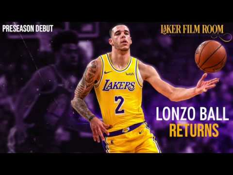 Laker Film Room - Lonzo Ball Returns