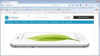 ocStore видео уроки | создание интернет магазина | урок 4