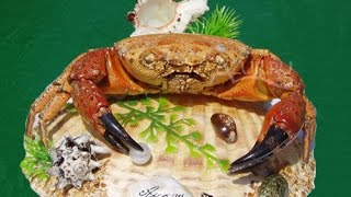 кРАБ СУВЕНИР СВОИМИ РУКАМИ. Souvenir crab with your hands