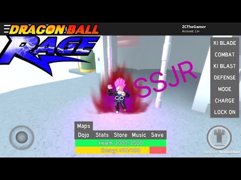 [Dragonball Rage]SSJR FINALLY+Trolling!