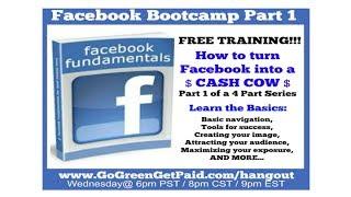 Facebook Fundamentals, Facebook For Beginners, Facebook Marketing Class, How To Market On Facebook