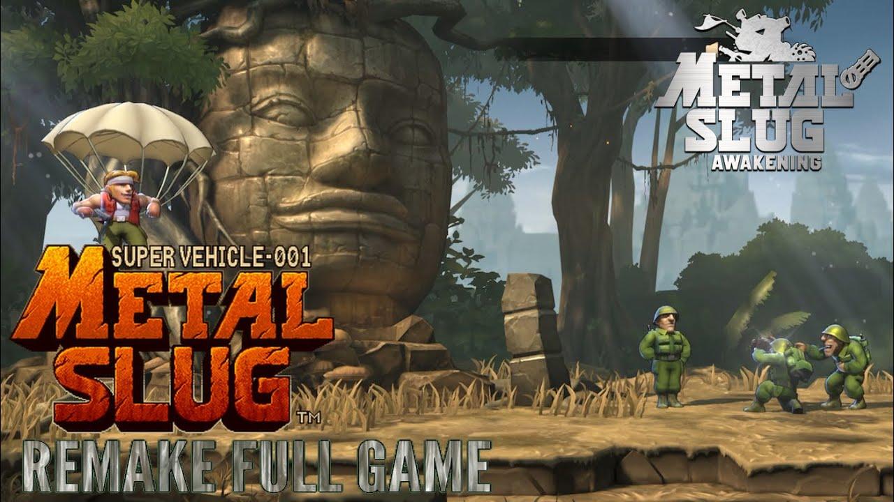 Metal Slug Code: J - Metal Slug Remake FULL GAME (No Death)