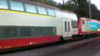 Le train au Luxembourg