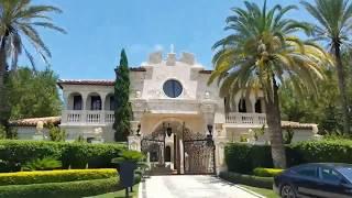 Ocean Drive A1A Mansions (a Driver's View)  - Delray Beach, Boca Raton