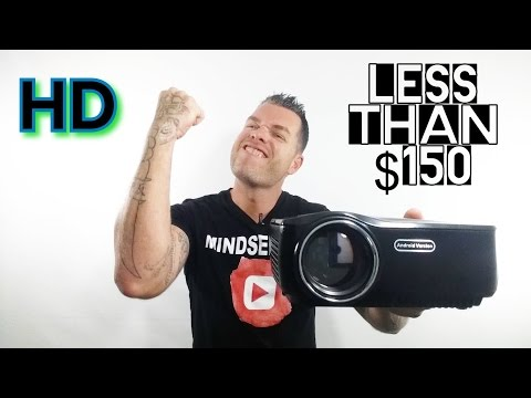 Best Projector under $150 | Erisan Android Wifi Projector