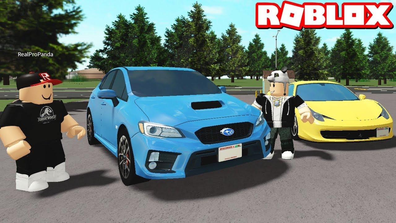 Hangisi Daha Güzel? Yeni Arabalar Aldık! - Panda ile Roblox Greenville