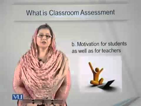 Lecture 5 (EDU405 – Classroom Assessment)