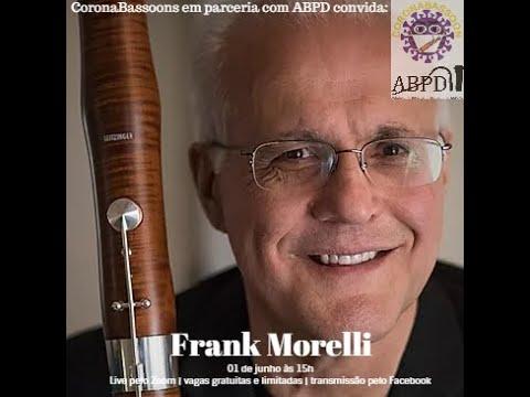 Live com o professor Frank Morelli